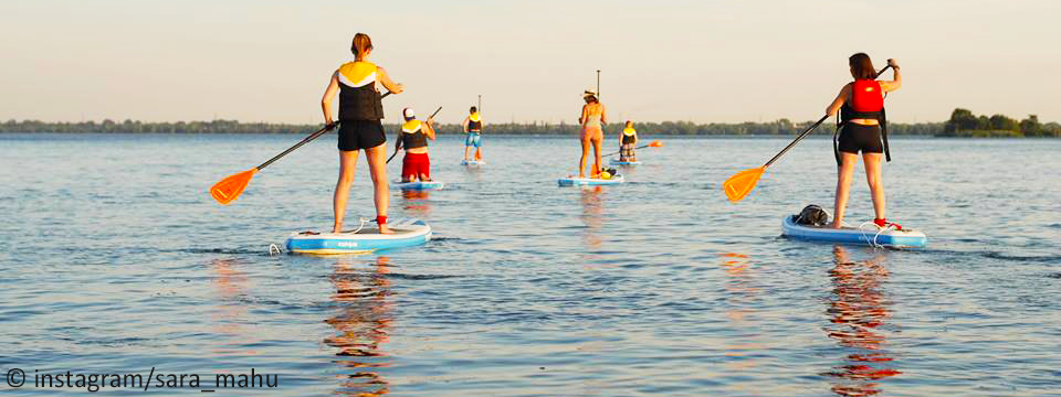 Stand Up Paddle - Fleuve St-Laurent - Montréal